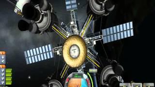 KSP- EVA around the new Arkingthaad Tower Lander