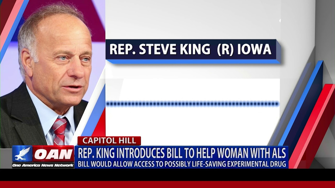 Rep. King introduces bill to save Iowa woman with ALS