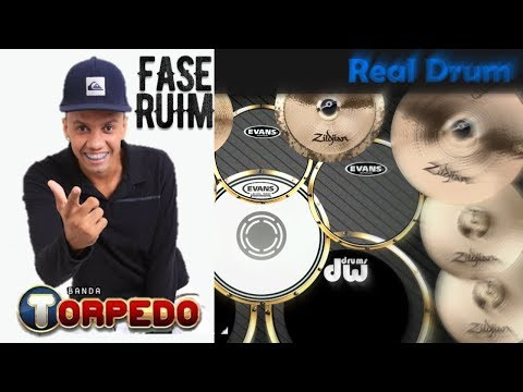 Real Drum 🎶Fase Ruim - Banda Torpedo🎶 Nilkson Drummer