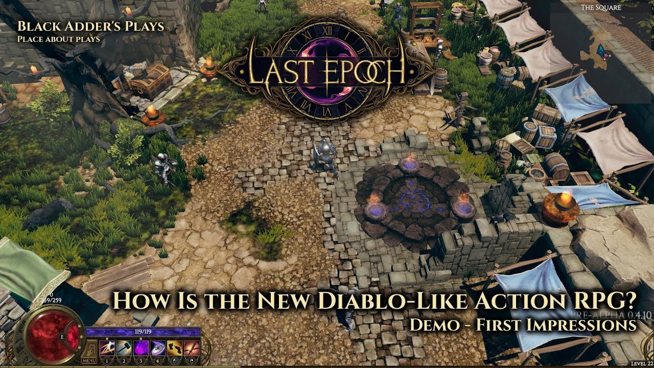 Diablo Like Games 2020.Last Epoch How Is The New Diablo Like Action Rpg First Impressions From Demo Gameplay