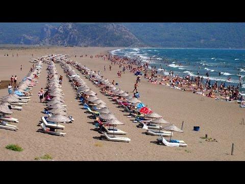 İztuzu Beach - İztuzu Plajı / Dalyan - Turkey