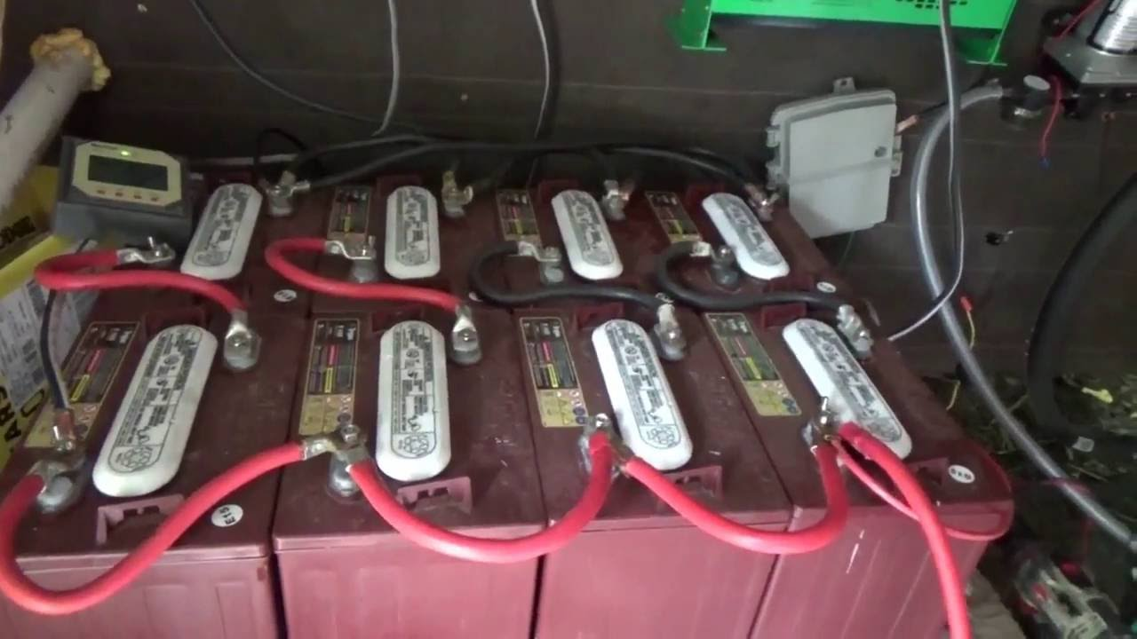 neatly wiring  solar charge controllers inverters