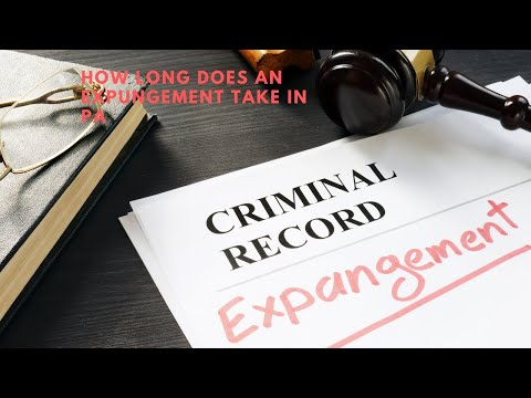 How Long Does an Expungement Take?