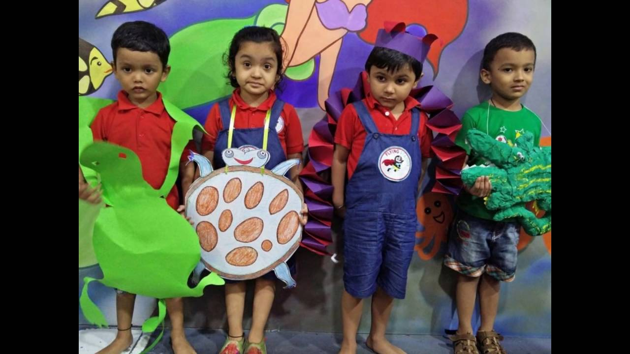 c7617c9cbf FANCY DRESS (THEME ANIMAL PLANET) IN FLYING STATION PRESCHOOL - YouTube