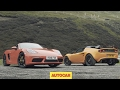 Porsche 718 Boxster S versus Lotus Elise Cup 250 | Review | two great sports cars driven | Autocar