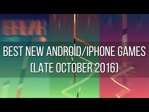 Best New Android And IPhone Games (late October 2016)