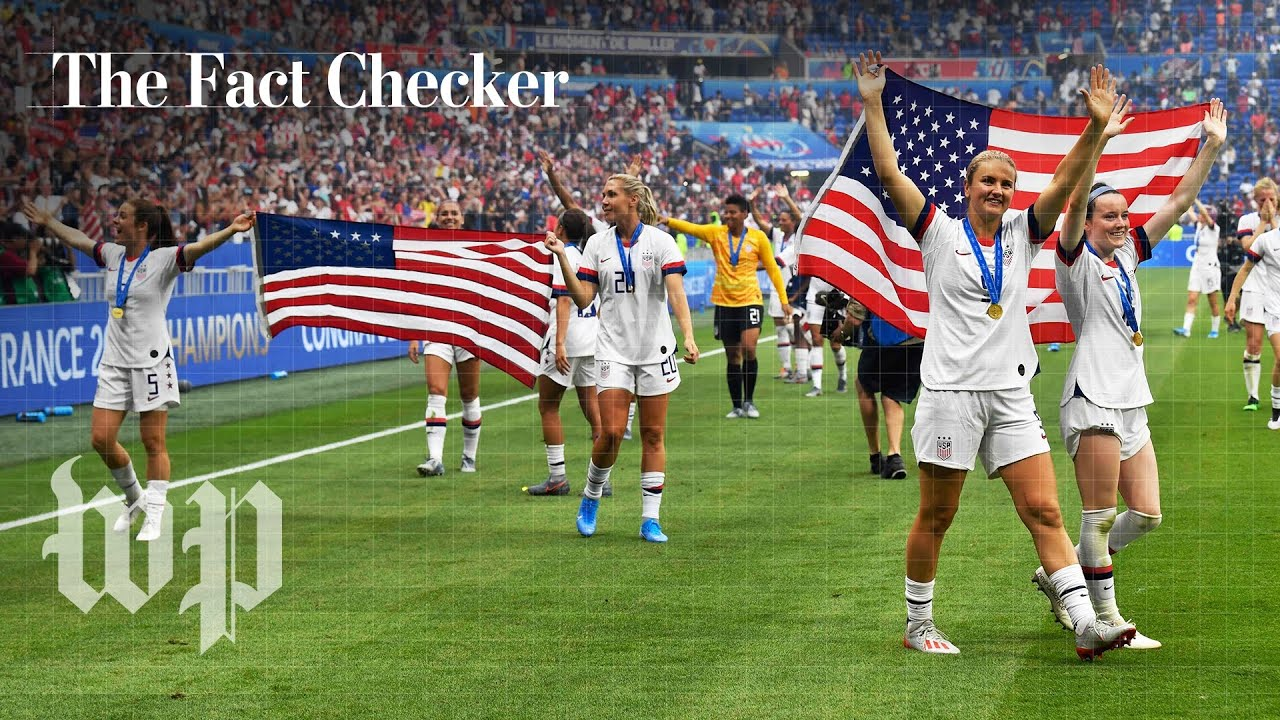 Are the U.S. women's soccer team players paid less? The gender pay gap explained | The Fact Checker