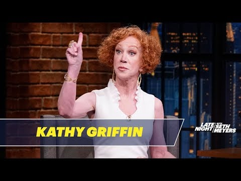 Kathy Griffin Got Investigated by the Fedsfor Conspiracy to Assassinate the President