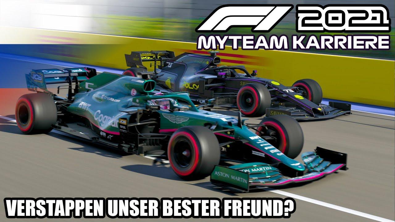F1 2021 My Team Karriere #14: Verstappen unser bester Freund?
