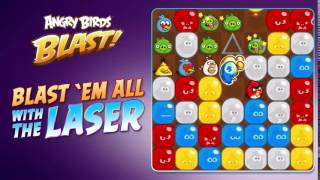 Angry Birds Blast The Laser Booster