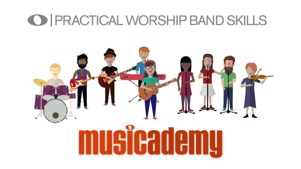 Worship Music Training: Guitar, Bass, Vocals, Keys, Worship Leading & PA