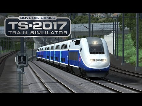 Train Simulator 2017 I #04 ★ Karriere TGV - 320 km I Avignon - Marseille [Deutsch/HD]