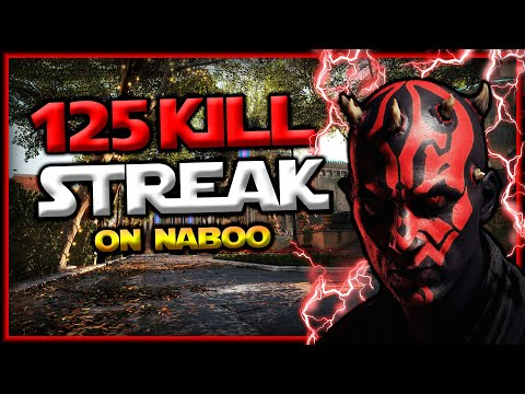 Star Wars Battlefront 2 Darth Maul 125 Killstreak (Naboo)