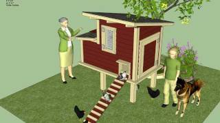 S300u - How To Build A Chicken Coop - Free Chicken Coop Plans