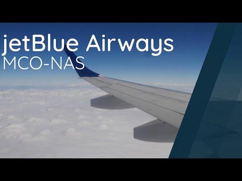 Flight Review - Jetblue E190 - MCO-NAS - JBU241