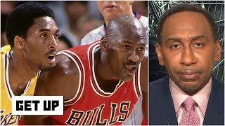 Stephen A.: 'It was heartbreaking' to see Kobe talk about MJ in 'The Last Dance' | Get Up