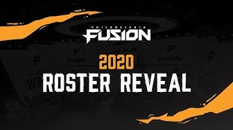Philadelphia Fusion 2020 ROSTER REVEAL