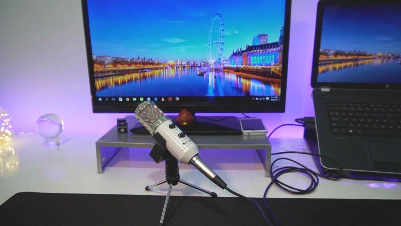 Fifine Plug Play Desktop Microphones Youtube Gaming Studio Condenser Recording Microphone Bm700 Mic For Pc Laptop Komputer
