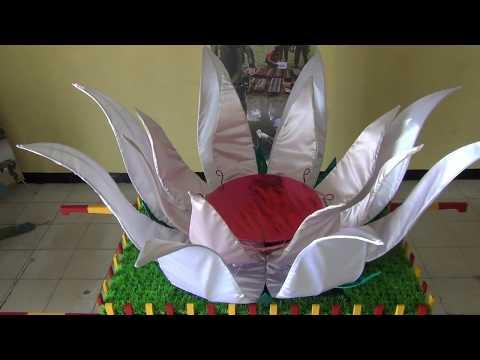 The lotus flower electric remote control DNG Humemade (Gegana Brimob Polda South Kalimantan)