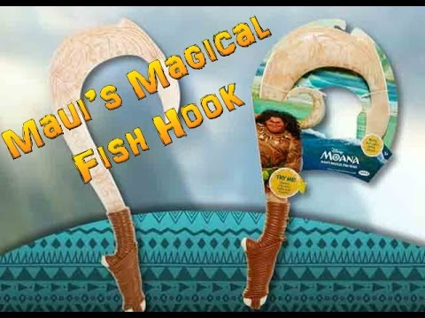 Disney 39 s moana maui 39 s magical fish hook youtube for Disney s moana maui s magical fish hook