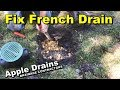 How to FIX French Drain that lasts FOREVER