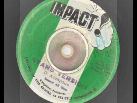 lloyd parks & dennis alcapone - stars & stars version - impact records  reggae 1972