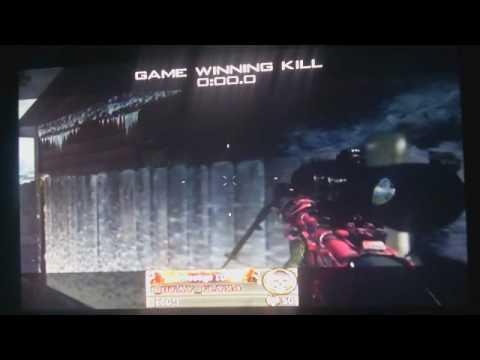 Sick Intervention Bullet Penetration Game Winning Kill.wmv