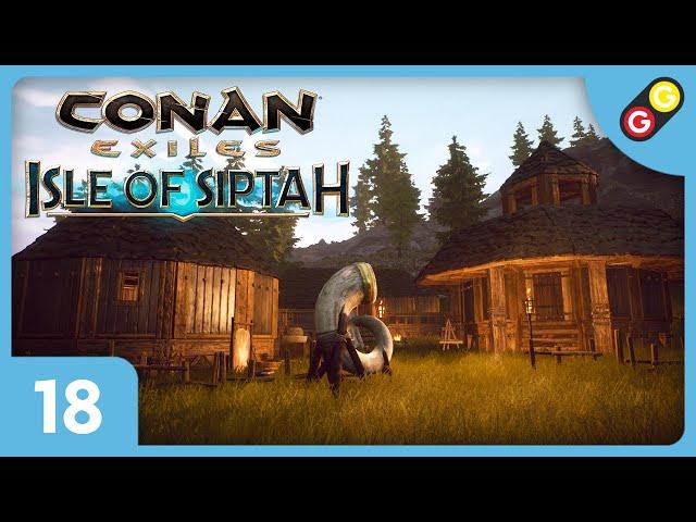 Conan Exiles : Isle of Siptah #18 On visite une base de joueur ! [FR]