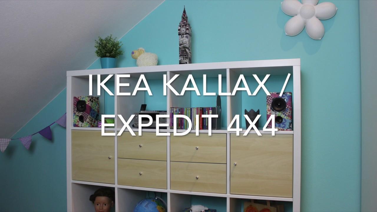 Expedit Cd ikea hack kallax / expedit cd teiler - youtube