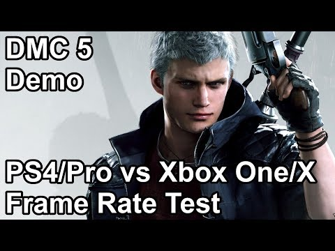 Devil May Cry 5 PS4 vs PS4 Pro vs Xbox One vs Xbox One X Frame Rate Comparison (Demo) thumbnail