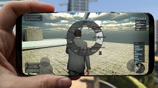 Playing GTA 5 with my iPhone
