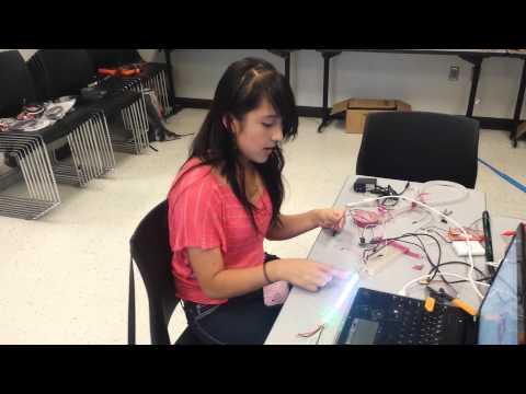 Graciela A- Milestone 2 LED Bracelet