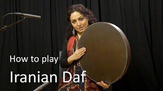 Learn to play Iranian Daf - with Naghmeh Farahmand