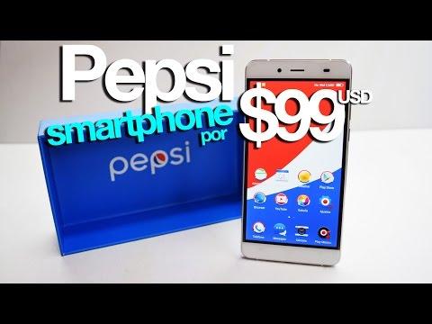 Unboxing PEPSI phone P1S  -  super smartphone por $99USD!!