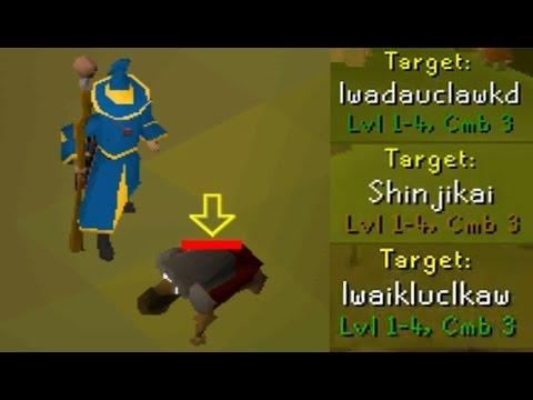 Killing Level 3 Looter Bots