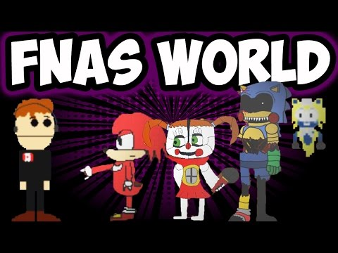 FNAS WORLD #7 - UPDATE 4.0 | MORE NEW CHARACTERS ADDED AND FOUND