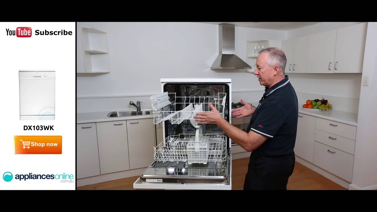 dx103wk dishlex dishwasher reviewed by expert appliances online rh youtube com