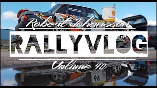 ASFALTRALLY I REGN! | RALLYVLOG VOL 40 Uddevalla City Race