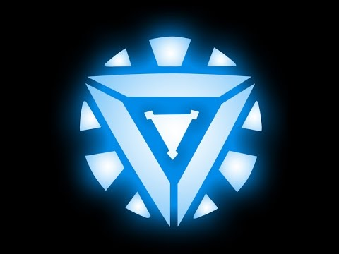 Arc Reactor Emblem - YouTube Iron Man 3 Arc Reactor Logo