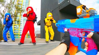 Nerf War: Among Us