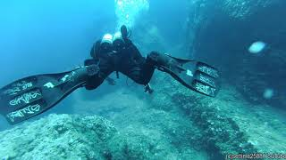 Scuba Diving on the Shoal of the Ants (Secca Delle Formiche), Italy