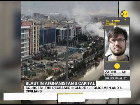 Blast in Afghanistan's capital Kabul