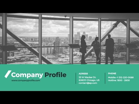 Company profile powerpoint presentation template youtube company profile powerpoint presentation template toneelgroepblik Image collections