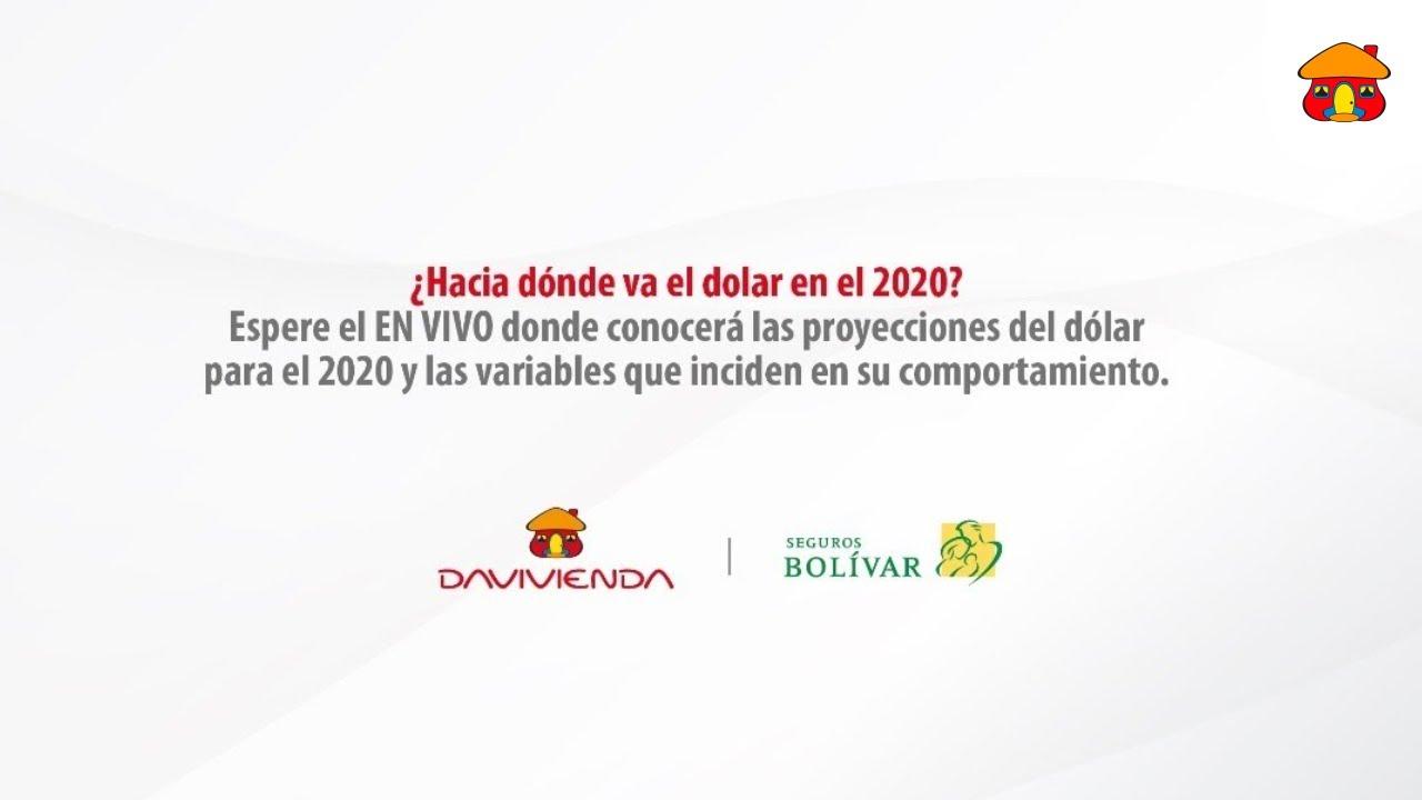 ¿Hacia dónde va el dólar en el 2020? | Banco Davivienda