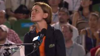 The chair umpire also human :)