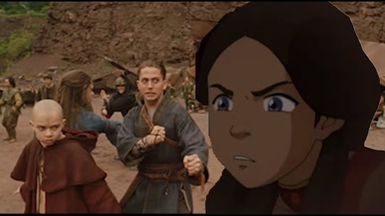 Download Avatar: the Last Airbender but the characters are reacting to their live action movie
