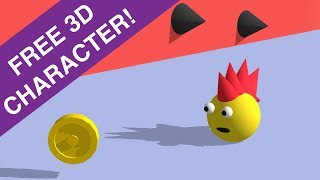 FREE 3D Character + How To Quickly Make Your Own 3D Character In Buildbox Game Development Software