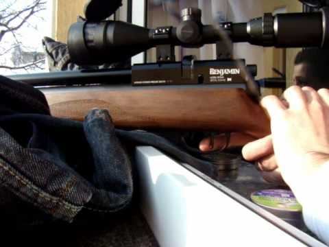 Benjamin Marauder  22 accuracy and penetration test
