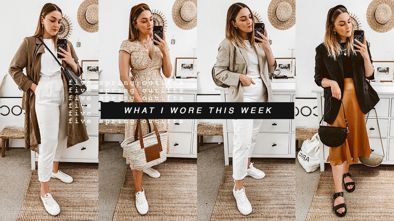 WHAT I WORE THIS WEEK | FIVE SPRING OUTFITS I Covet Thee 5