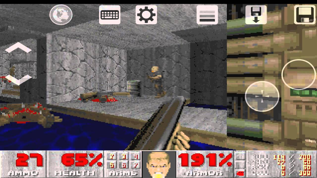Android Gameplay: Doom 2: Hell on Earth